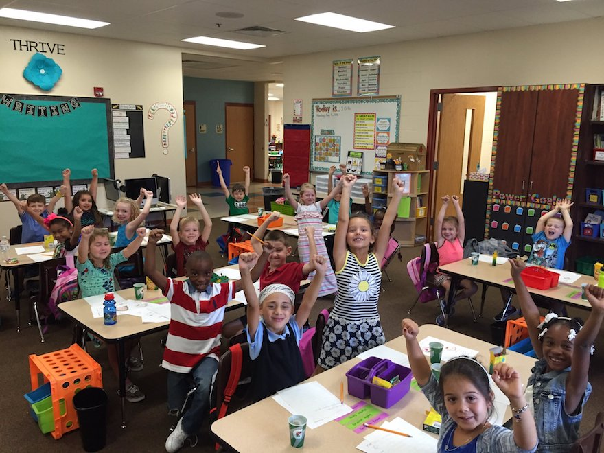 We   ARE  New River Elementary