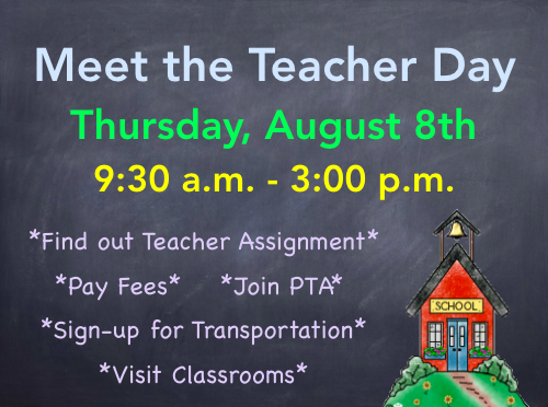 Meet the Teacher Day