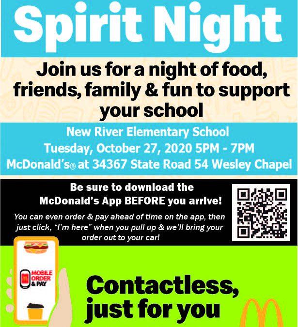 McDonald's Spirit Night